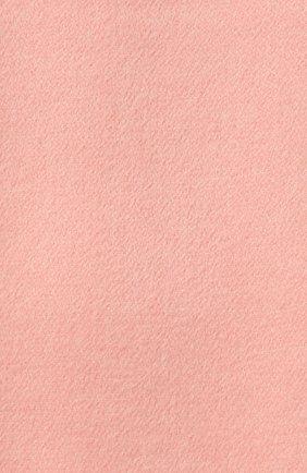 Кашемировый шарф Two-Tone Loro Piana светло-розовый | Фото №2