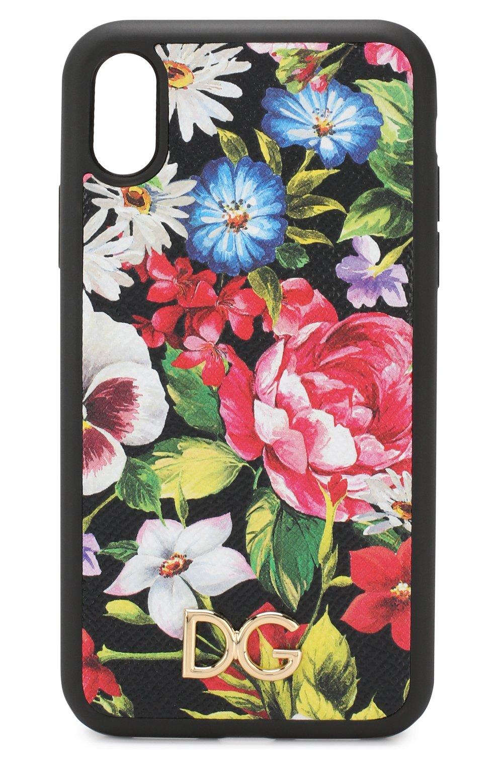 Мужской чехол для iphone xr DOLCE & GABBANA разноцветного цвета, арт. BI2516/AK878 | Фото 1