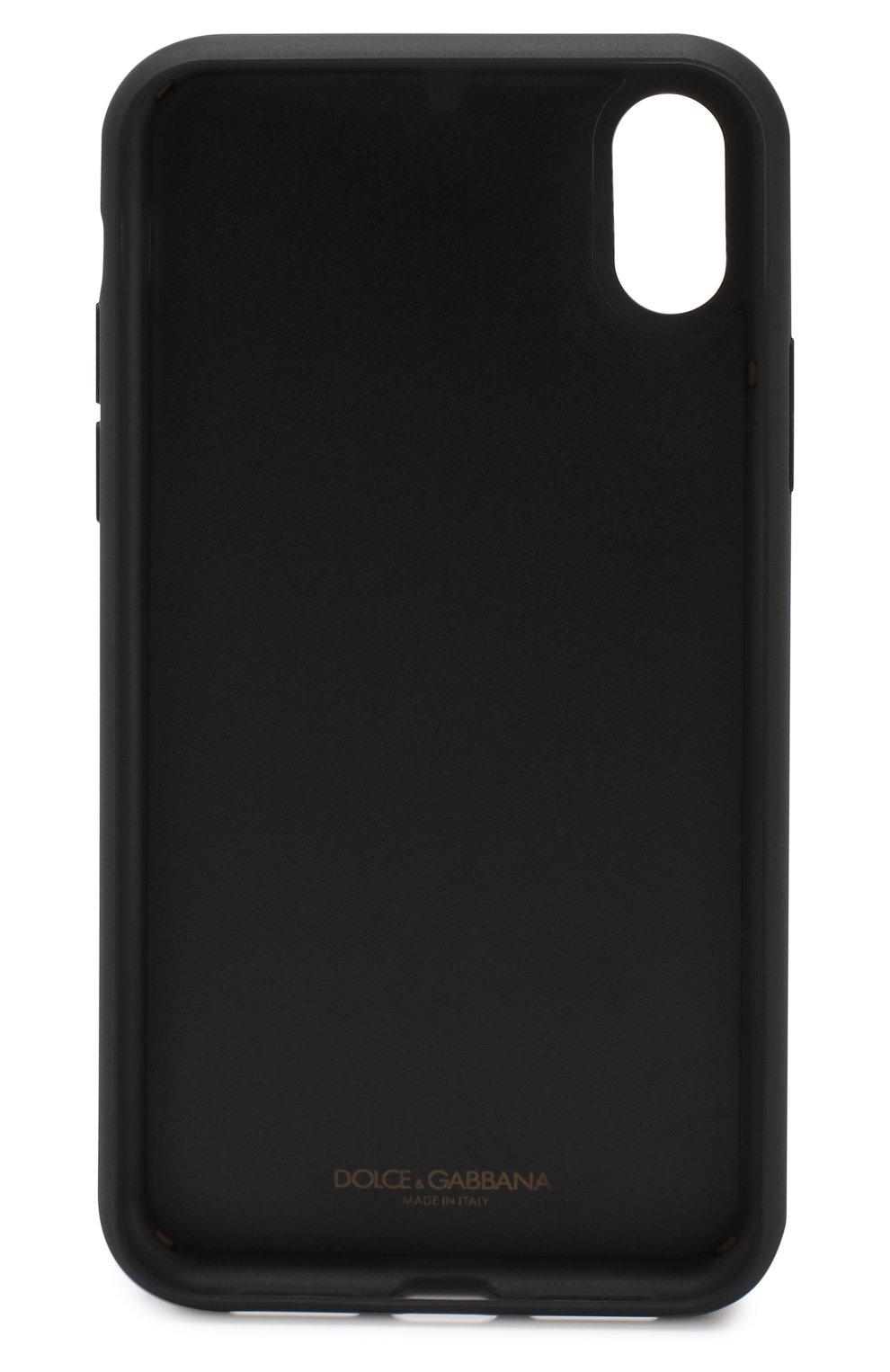 Мужской чехол для iphone xr DOLCE & GABBANA разноцветного цвета, арт. BI2516/AK878 | Фото 2