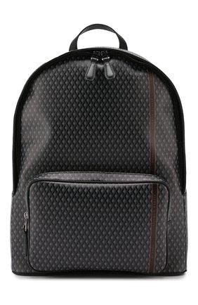 Мужской текстильный рюкзак DUNHILL серого цвета, арт. DU19R3720CC | Фото 1