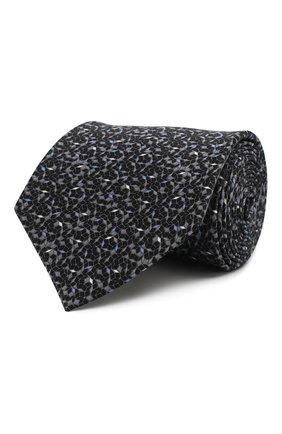 Комплект из шелковых галстука и платка | Фото №1