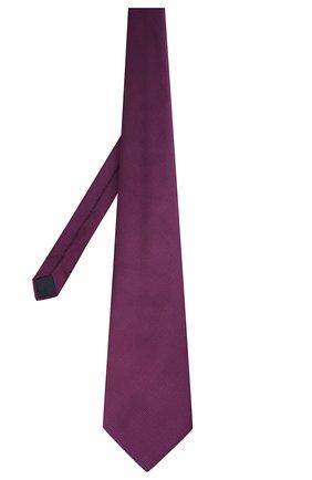 Мужской шелковый галстук LANVIN фиолетового цвета, арт. 1302/TIE | Фото 2