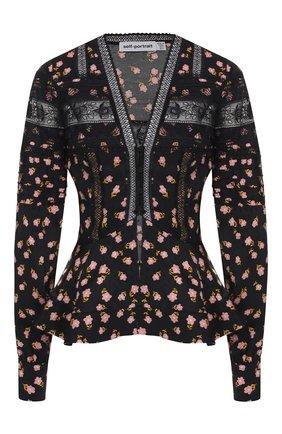 Блузка с принтом | Фото №1