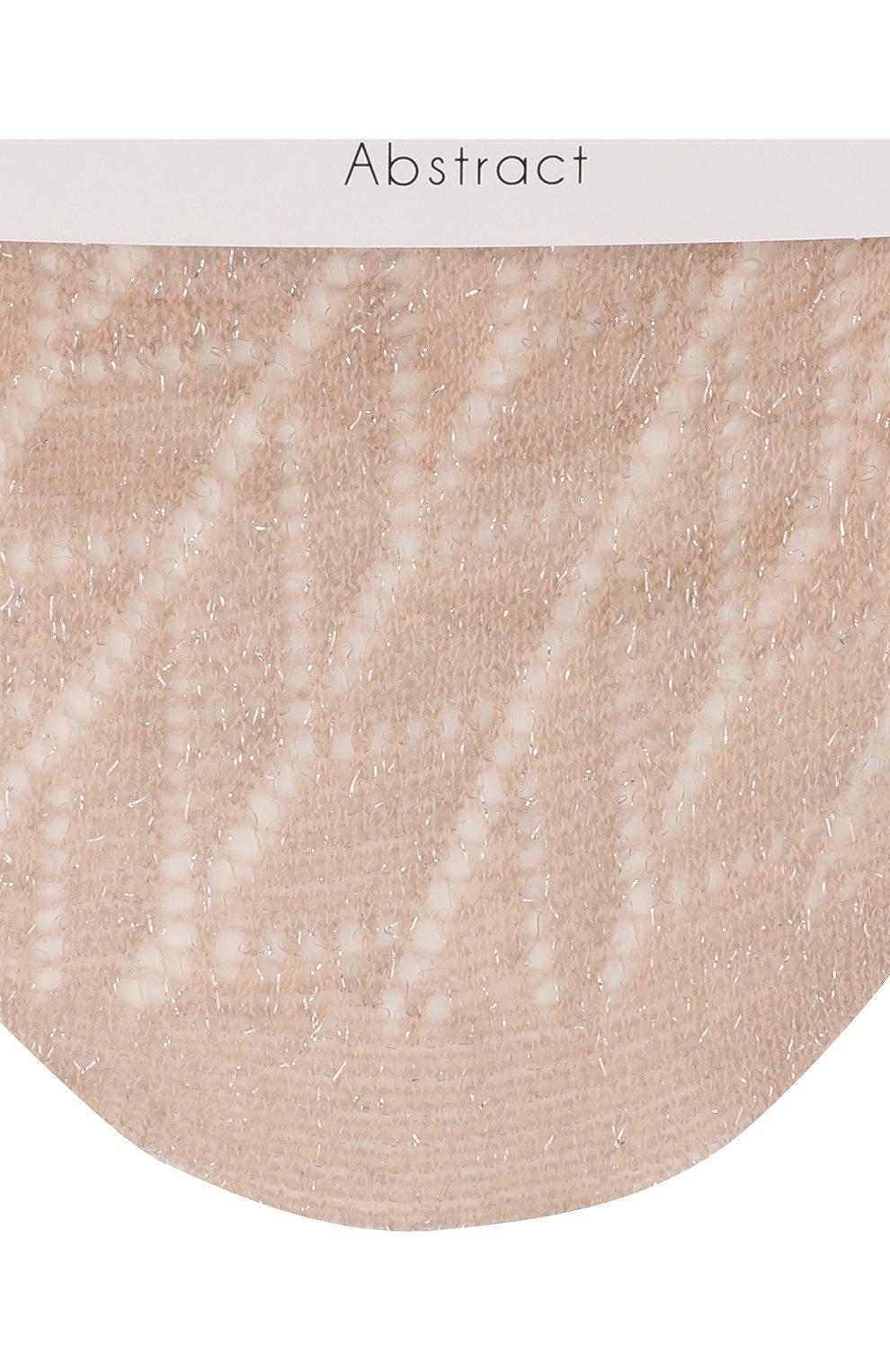 Женские носки abstract OROBLU бежевого цвета, арт. V0BC65878 | Фото 2
