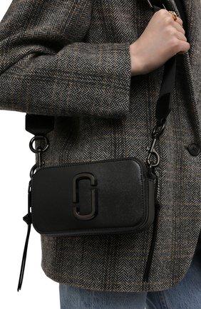 Женская сумка snapshot MARC JACOBS (THE) черного цвета, арт. M0014867   Фото 2