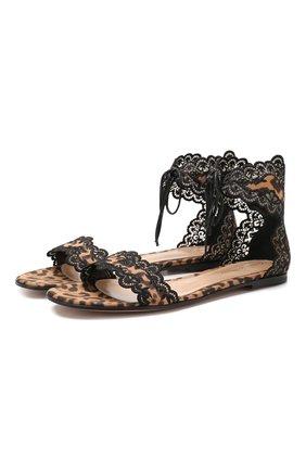 Текстильные сандалии Evie | Фото №1