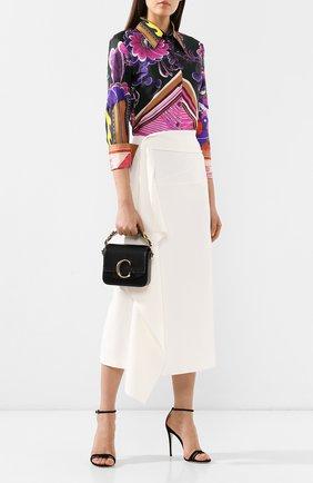 Женская сумка chloé c mini CHLOÉ черного цвета, арт. CHC19US193A37   Фото 2