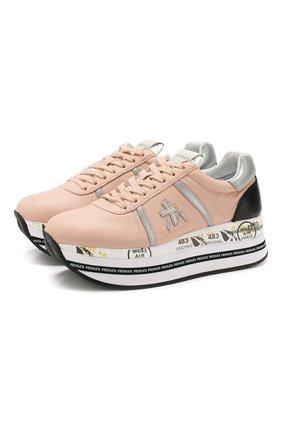 Комбинированные кроссовки Beth | Фото №1