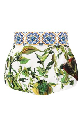 Женские шорты с принтом DOLCE & GABBANA разноцветного цвета, арт. FTAGWT/HP5N5 | Фото 1
