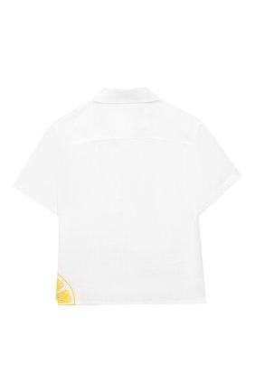 Льняная блузка | Фото №2
