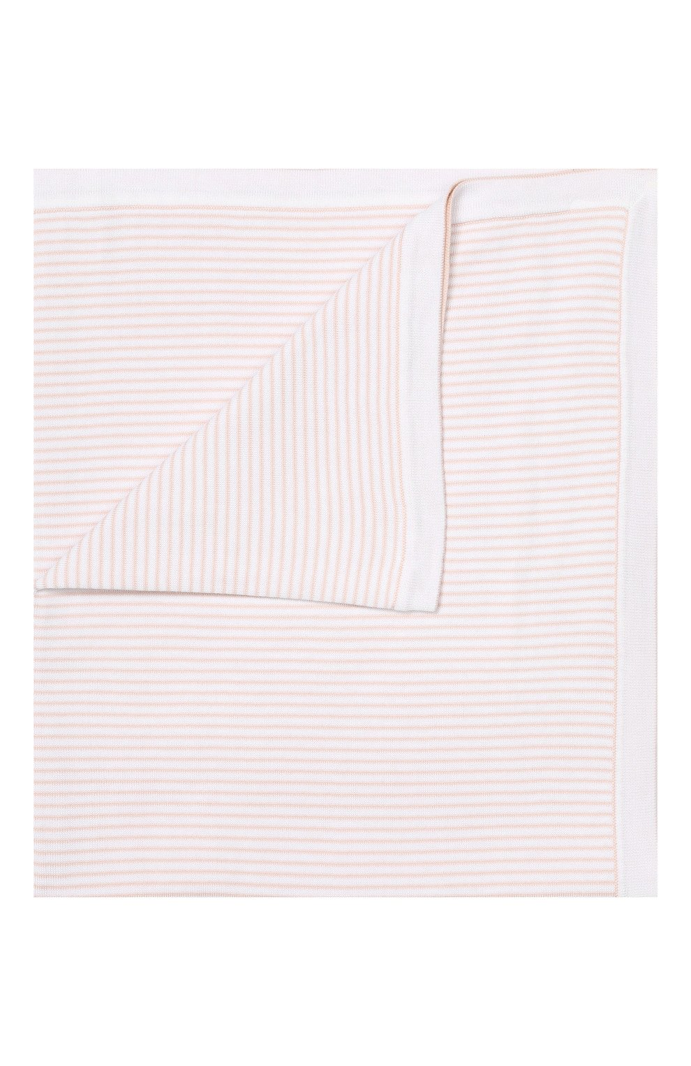 Детского хлопковое одеяло LORO PIANA розового цвета, арт. FAG3966   Фото 1