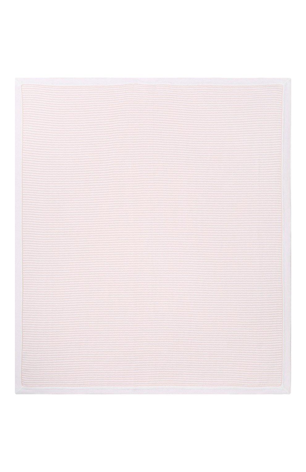 Детского хлопковое одеяло LORO PIANA розового цвета, арт. FAG3966   Фото 2