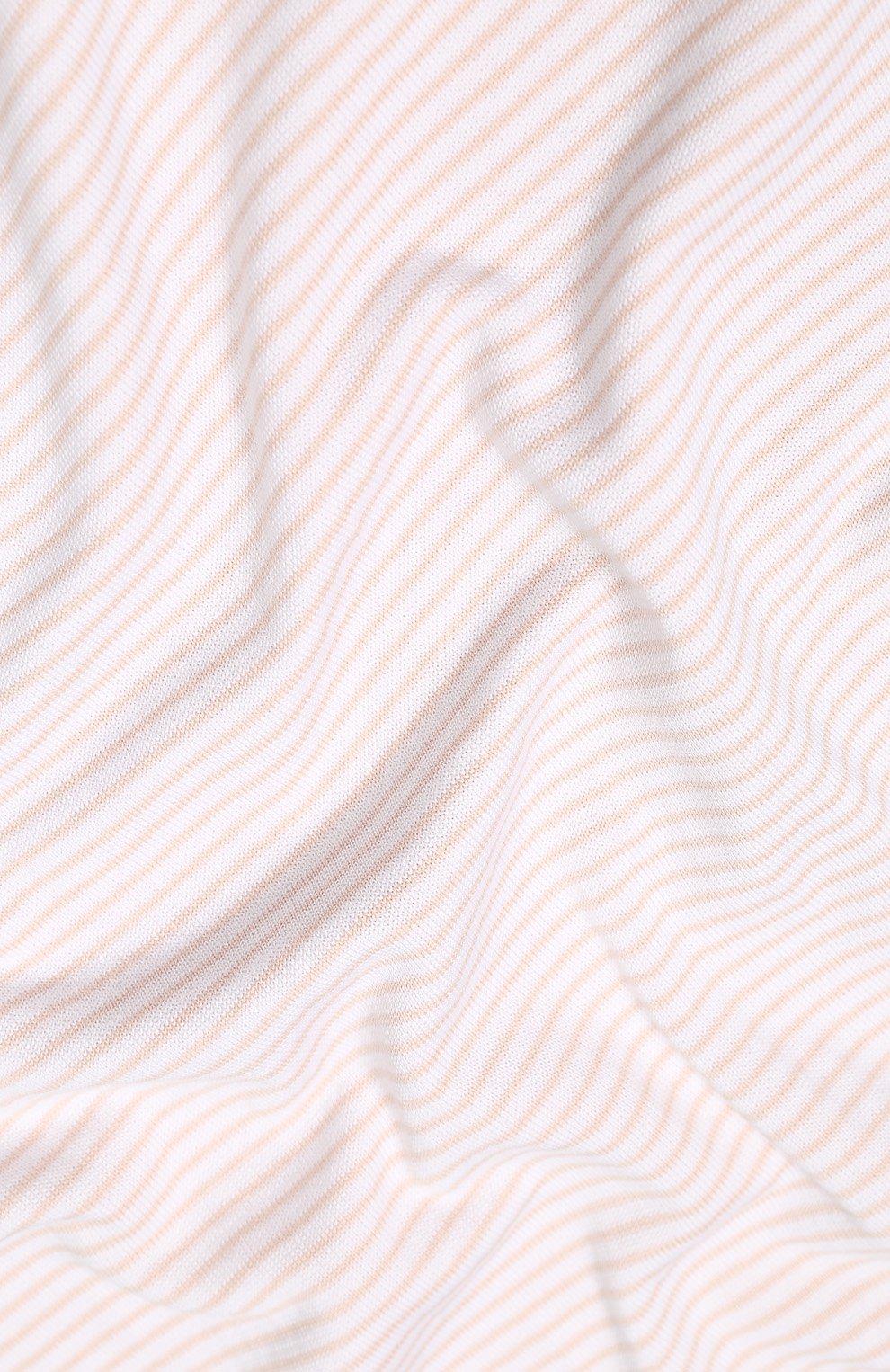 Детского хлопковое одеяло LORO PIANA розового цвета, арт. FAG3966   Фото 3
