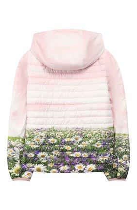 Двусторонняя куртка с капюшоном Freedomday розового цвета   Фото №2