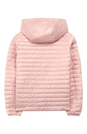 Двусторонняя куртка с капюшоном Freedomday розового цвета   Фото №4