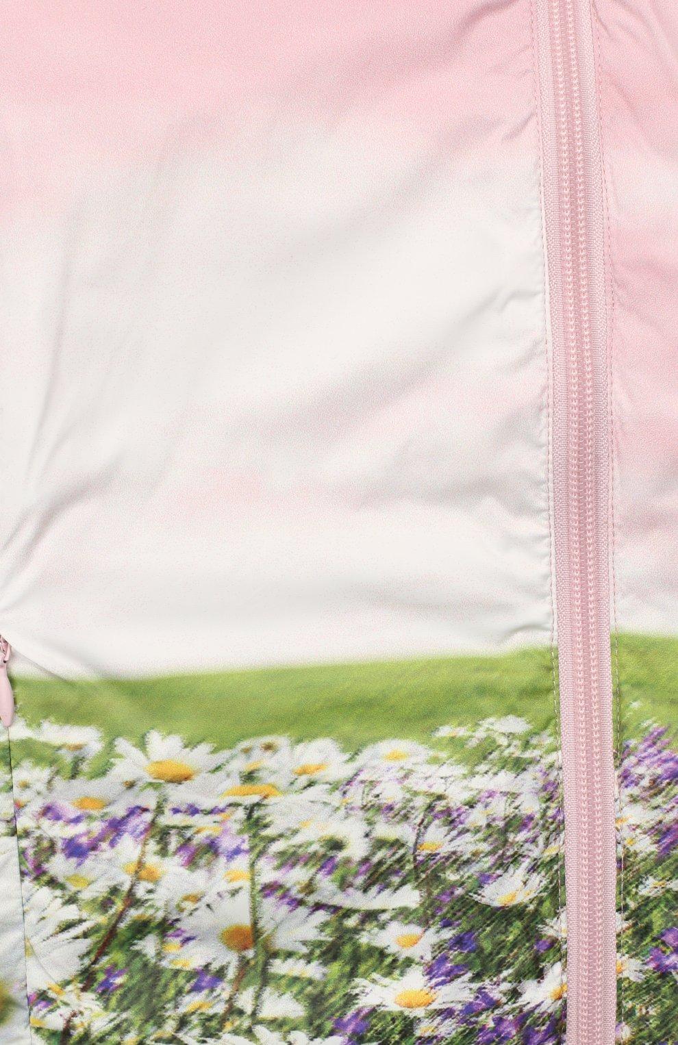 Двусторонняя куртка с капюшоном Freedomday розового цвета   Фото №5