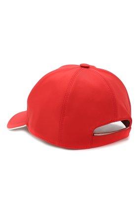 Детская бейсболка LORO PIANA красного цвета, арт. FAE8580 | Фото 2