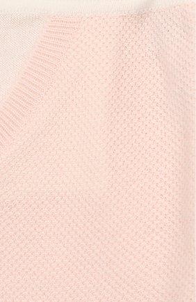 Детские кашемировые брюки LORO PIANA розового цвета, арт. FAG2126   Фото 3