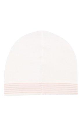 Детского хлопковая шапка LORO PIANA розового цвета, арт. FAG3948 | Фото 2
