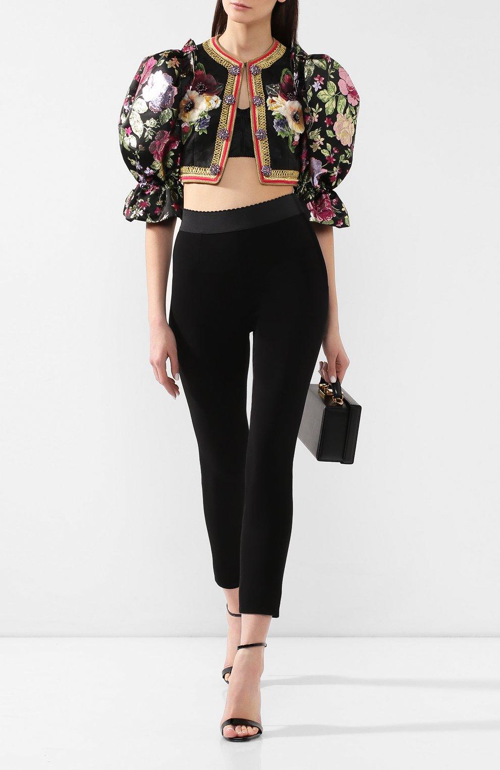 Жакет Dolce & Gabbana черный | Фото №2