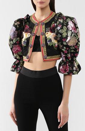 Жакет Dolce & Gabbana черный | Фото №3