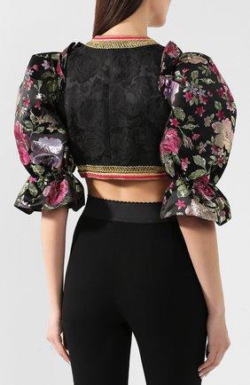 Жакет Dolce & Gabbana черный | Фото №4