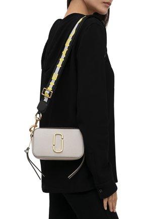 Женская сумка snapshot small MARC JACOBS (THE) серого цвета, арт. M0014146 | Фото 2