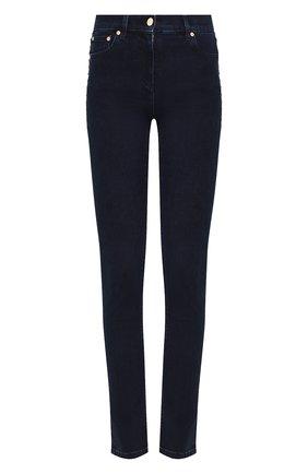 Женские джинсы-скинни VALENTINO темно-синего цвета, арт. RB3DD07H45L | Фото 1