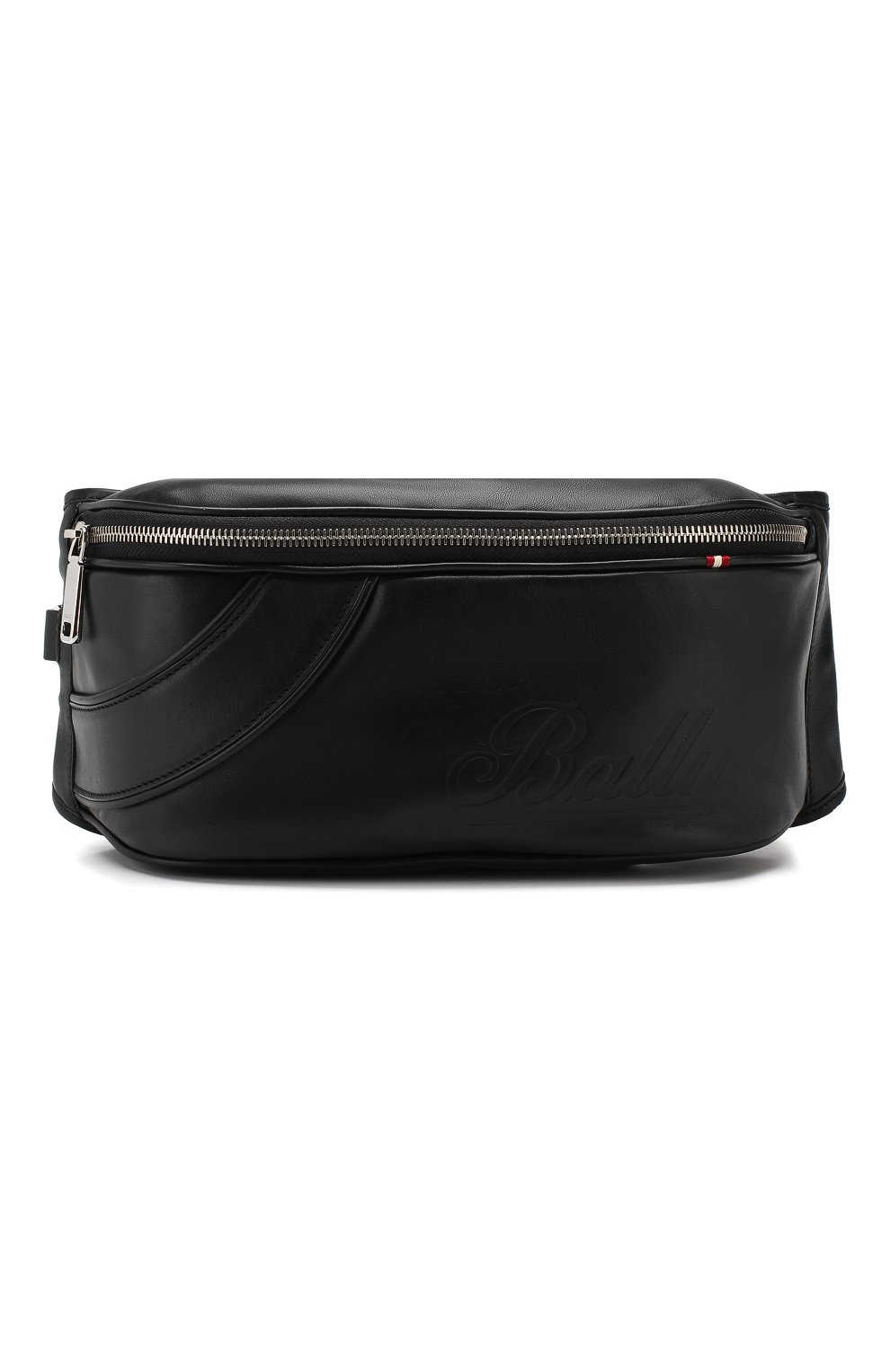 abd2db466cfc Мужская черная кожаная поясная сумка BALLY — купить за 42300 руб. в ...