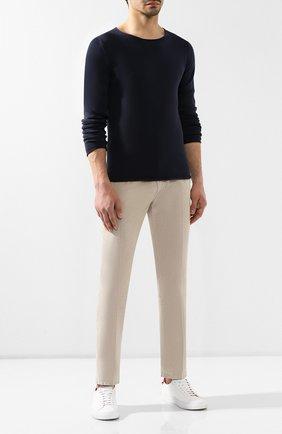 Мужские джинсы ANDREA CAMPAGNA светло-коричневого цвета, арт. AC102/T132.4   Фото 2