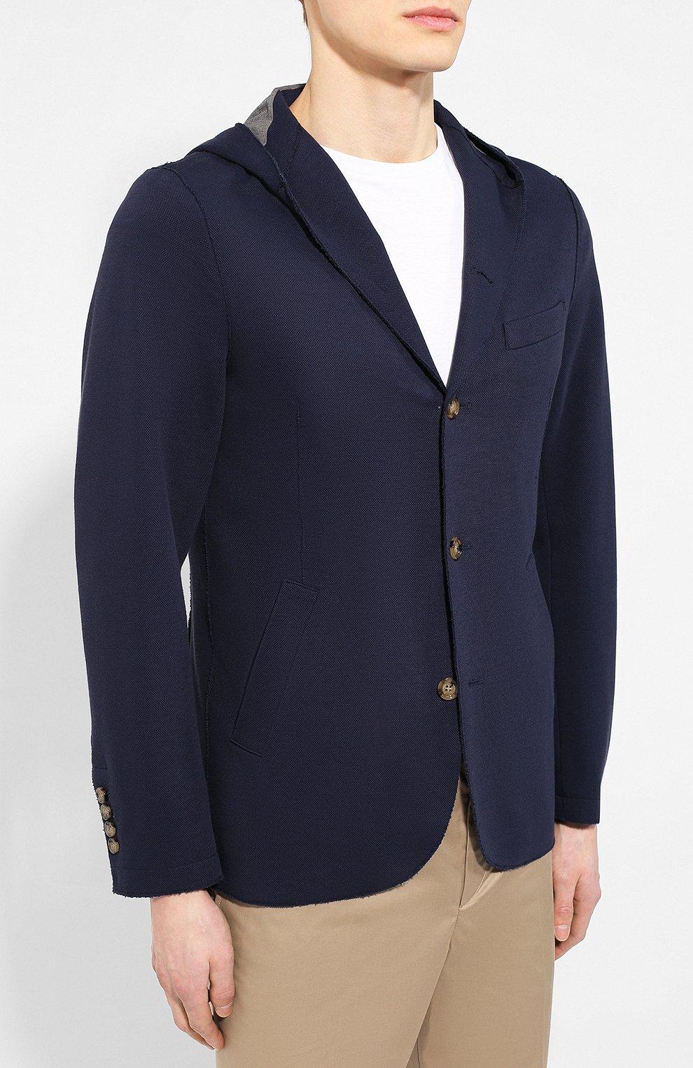 Хлопковый пиджак | Фото №3