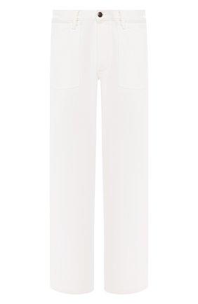 Мужские хлопковые брюки RALPH LAUREN белого цвета, арт. 790738323 | Фото 1