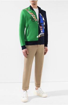 Мужская хлопковый кардиган RALPH LAUREN разноцветного цвета, арт. 790740367 | Фото 2