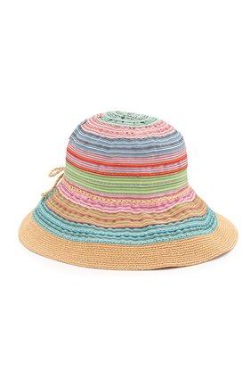Детская шляпа GREVI разноцветного цвета, арт. 5049 | Фото 1