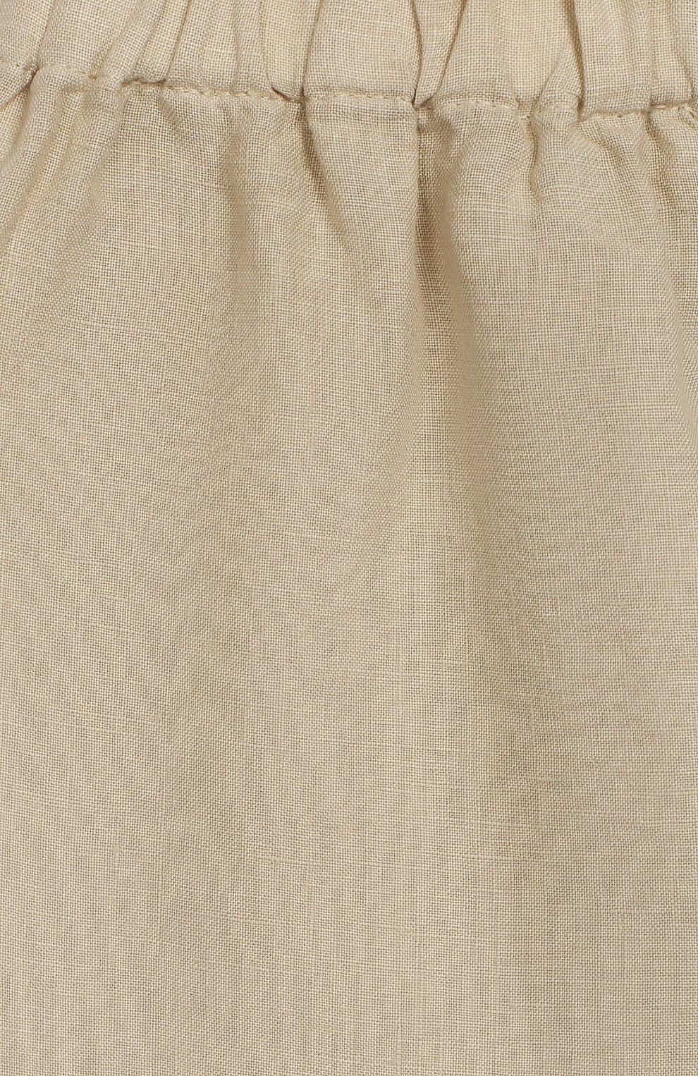 Льняные брюки   Фото №3