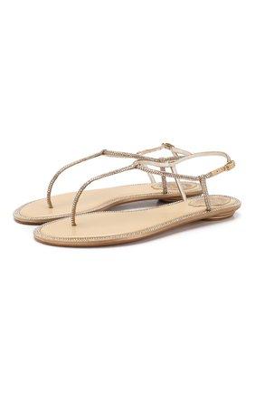 Текстильные сандалии Diana | Фото №1