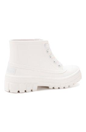 Резиновые ботинки Glaston Givenchy белые | Фото №4