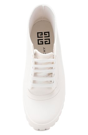 Резиновые ботинки Glaston Givenchy белые | Фото №5
