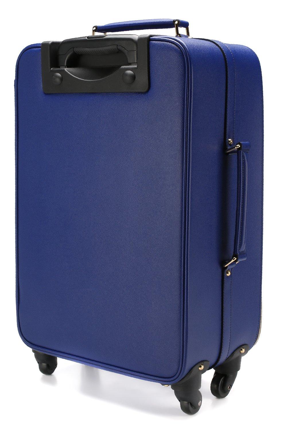 Кожаный дорожный чемодан Sicily  | Фото №2