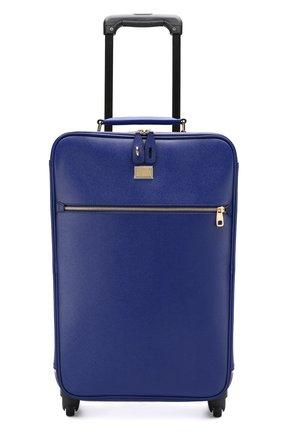 Кожаный дорожный чемодан Sicily  | Фото №4