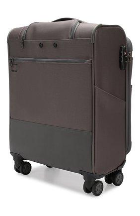 Женский дорожный чемодан uno soft deluxe small RONCATO серого цвета, арт. 404673 | Фото 2