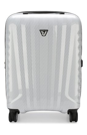 Женский дорожный чемодан uno zsl premium extra small RONCATO белого цвета, арт. 5173 | Фото 1