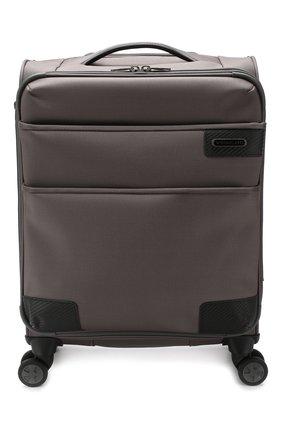 Женский дорожный чемодан uno soft deluxe small RONCATO серого цвета, арт. 40467322 | Фото 1
