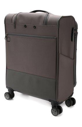 Женский дорожный чемодан uno soft deluxe small RONCATO серого цвета, арт. 40467322 | Фото 2