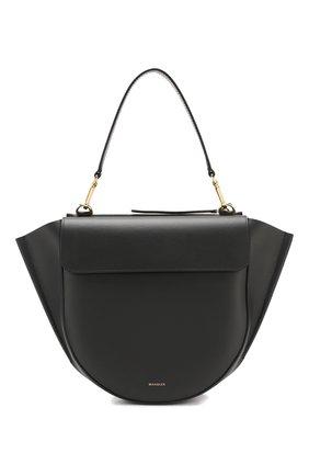 Женская сумка hortensia medium WANDLER черного цвета, арт. H0RTENSIA BAG MEDIUM | Фото 1