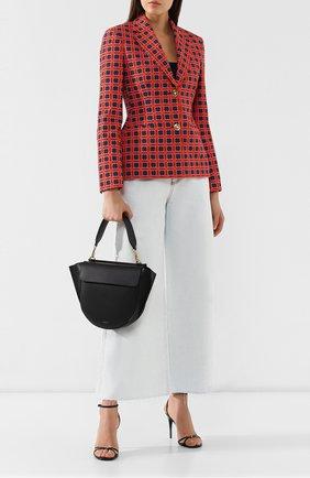 Женская сумка hortensia medium WANDLER черного цвета, арт. H0RTENSIA BAG MEDIUM | Фото 2