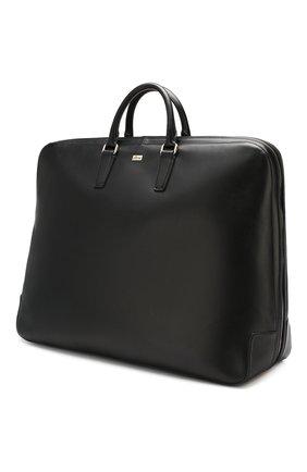 Кожаная сумка в комплекте с кофром и вешалкой | Фото №2