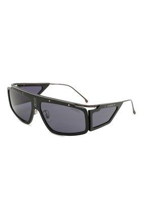 Мужские солнцезащитные очки CARRERA черного цвета, арт. CARRERA FACER 807 | Фото 1