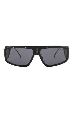 Мужские солнцезащитные очки CARRERA черного цвета, арт. CARRERA FACER 807 | Фото 2
