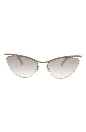Женские солнцезащитные очки MYKITA серого цвета, арт. MIZUH0/CHAMPAGNEG0LD/TAUPEGREY/0RIGINAL GREY | Фото 3
